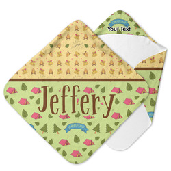 Summer Camping Hooded Baby Towel (Personalized)