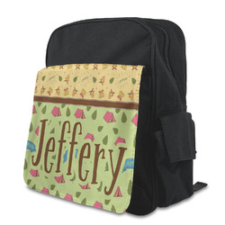 Summer Camping Preschool Backpack (Personalized)