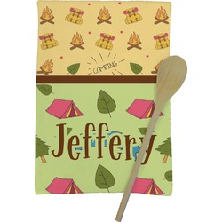 Summer Camping Kitchen Towel - Full Print (Personalized)