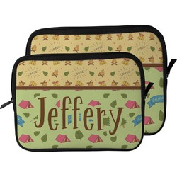 Summer Camping Laptop Sleeve / Case (Personalized)