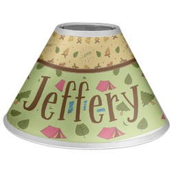 Summer Camping Coolie Lamp Shade (Personalized)