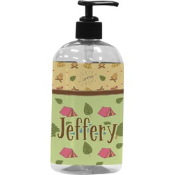 Summer Camping Plastic Soap / Lotion Dispenser (Personalized)