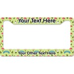 Summer Camping License Plate Frame (Personalized)