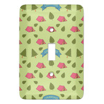 Summer Camping Light Switch Covers (Personalized)