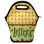 Summer Camping Lunch Bag w/ Name or Text
