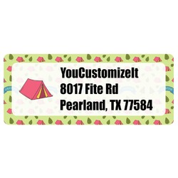 Summer Camping Return Address Labels (Personalized)