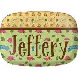 Summer Camping Melamine Platter (Personalized)