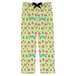 Summer Camping Mens Pajama Pants (Personalized)