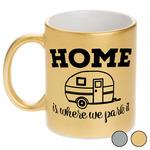 Summer Camping Metallic Mug (Personalized)