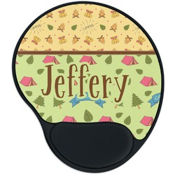 Summer Camping Mouse Pad with Wrist Support