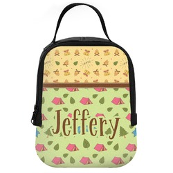 Summer Camping Neoprene Lunch Tote (Personalized)