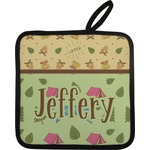 Summer Camping Pot Holder (Personalized)