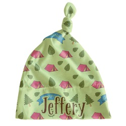 Summer Camping Newborn Hat - Knotted (Personalized)