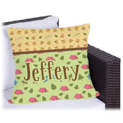 Summer Camping Outdoor Pillow (Personalized)