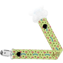 Summer Camping Pacifier Clips (Personalized)