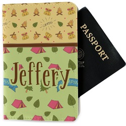 Summer Camping Passport Holder - Fabric (Personalized)