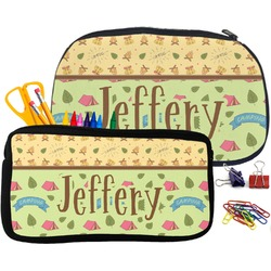 Summer Camping Pencil / School Supplies Bag (Personalized)