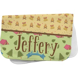 Summer Camping Burp Cloth (Personalized)