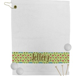 Summer Camping Golf Towel (Personalized)