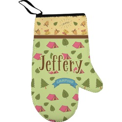 Summer Camping Oven Mitt (Personalized)