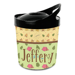 Summer Camping Plastic Ice Bucket (Personalized)