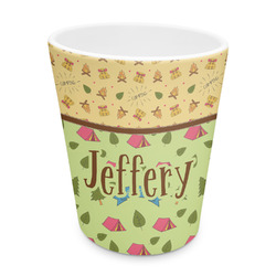 Summer Camping Plastic Tumbler 6oz (Personalized)