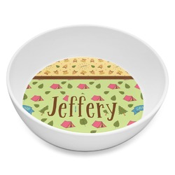 Summer Camping Melamine Bowl 8oz (Personalized)