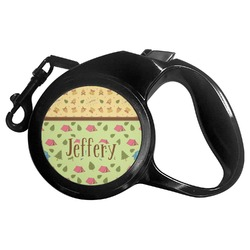 Summer Camping Retractable Dog Leash (Personalized)