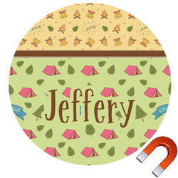 Summer Camping Car Magnet (Personalized)