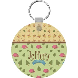 Summer Camping Keychains - FRP (Personalized)