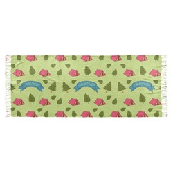 Summer Camping Faux Pashmina Scarf (Personalized)
