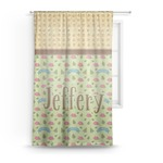 Summer Camping Sheer Curtains (Personalized)