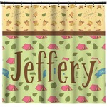 Summer Camping Shower Curtain (Personalized)