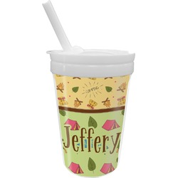 Summer Camping Sippy Cup with Straw (Personalized)