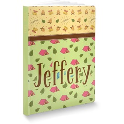 "Summer Camping Softbound Notebook - 5.75"" x 8"" (Personalized)"