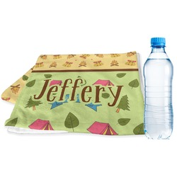 Summer Camping Sports Towel (Personalized)
