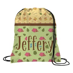 Summer Camping Drawstring Backpack (Personalized)