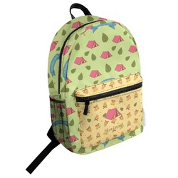 Summer Camping Student Backpack (Personalized)