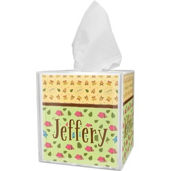 Summer Camping Tissue Box Cover (Personalized)