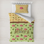 Summer Camping Toddler Bedding w/ Name or Text
