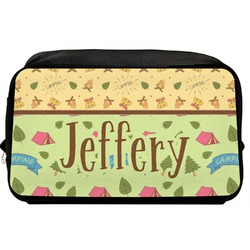 Summer Camping Toiletry Bag / Dopp Kit (Personalized)