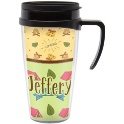 Summer Camping Travel Mug with Handle (Personalized)