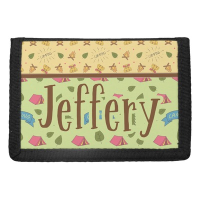 Summer Camping Trifold Wallet (Personalized)