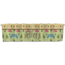Summer Camping Valance (Personalized)