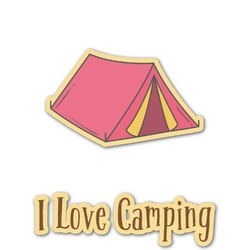 Summer Camping Graphic Decal - Custom Sized (Personalized)