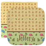 Summer Camping Facecloth / Wash Cloth (Personalized)