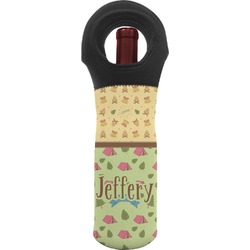Summer Camping Wine Tote Bag (Personalized)