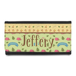 Summer Camping Leatherette Ladies Wallet (Personalized)