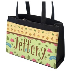 Summer Camping Zippered Everyday Tote (Personalized)