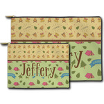 Summer Camping Zipper Pouch (Personalized)